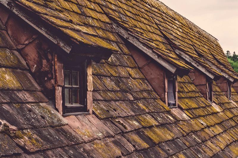 evitar las humedades en tejados