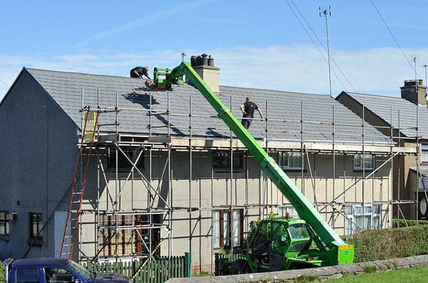 rehabilitación del tejado